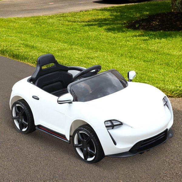 Carro elétrico para criança a partir de 3 anos com controle remoto Abertura da porta Carga 25 kg 115x65x50cm
