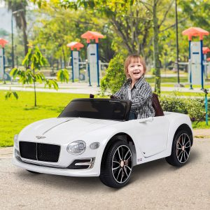 Carro elétrico para crianças Bentley a partir de 3 anos Bentley com controle remoto MP3