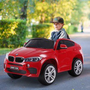 Carro elétrico para crianças de a partir de 3 anos com controle remoto Carga 30kg 116 × 74 × 60cm