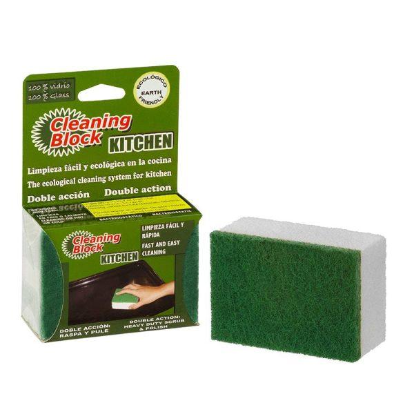 Cleaning Block Cozinha Em Blister Individual Ideal Para Limp