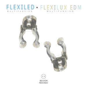 Clip Para Fixar Tubo Flexilux/Flexiled 2  E 3 Vias Edm