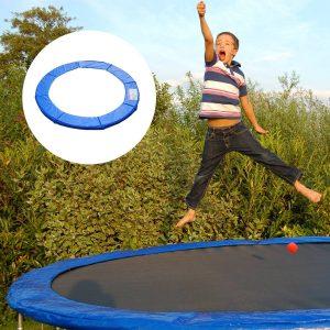 Coberta Proteção fronteira Cama elástica 244 cm Azul Trampolins Trampolim