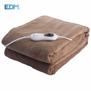 Cobertor Elétrico 120W 180X130Cm Edm Para Cama De Casal - 10