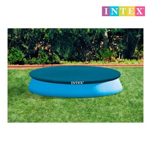 Cobertura Piscina Easy Set 366 Cm Intex 28022 Disponivel Cantiléver De 30Cm. Fabricado Em Vinil 0