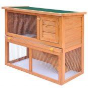 Coelheira para animais pequenos 1 porta madeira