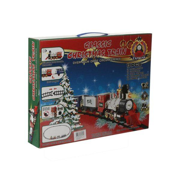 Comboio Infantil Para Decoração De Natal 13 Peças