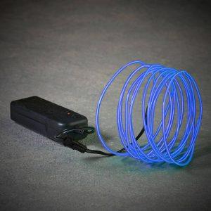 Corda Neon Cor Azul 2