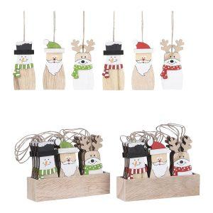 Decoração Para Arvore De Natal Modelos Sortidos 17X12X3