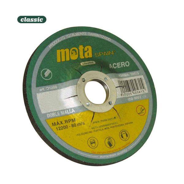Disco Desbaste Ox. 115X6.0X22.23Mm D1160 (Tipo: T27 A24R-Bf2