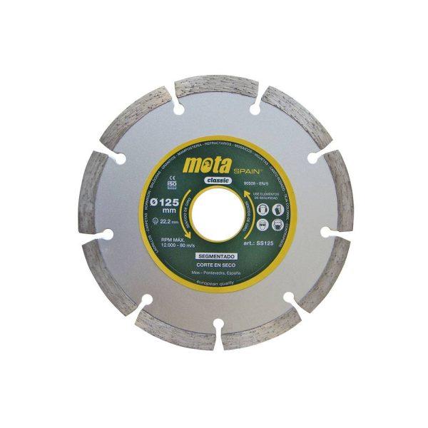 Disco Diamantado Segment. Laser 230Mm Ss230 (Orificio 22.23