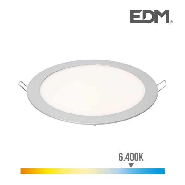 Downlight Led Encastravel 20W Luz Fria 6.400K 1500 Lumens Ed
