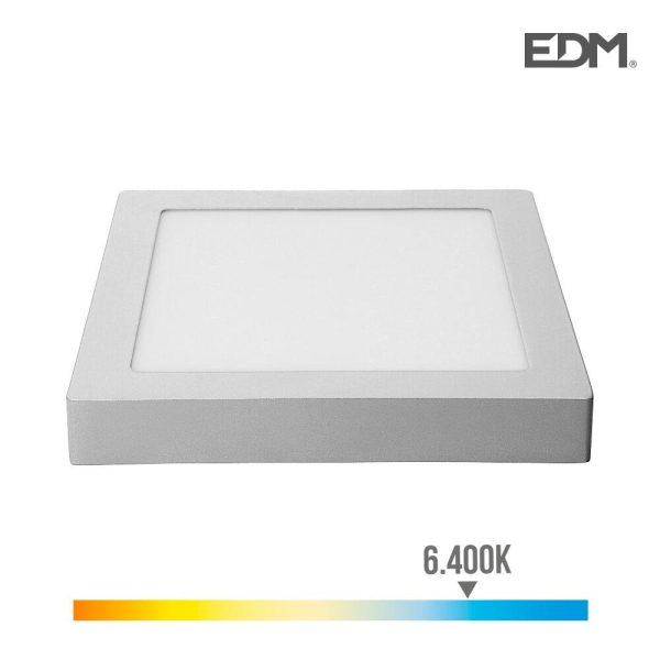 Downlight Led Parede/Teto Quadrado 20W 6.400K Luz Fria 1500