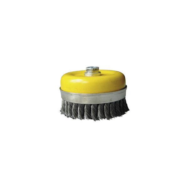 Escova Alta Rotaçao Aço Retorcido - Taça 125Mm  Ftr125