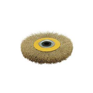 Escova Circular Aço Ondulado - 125X20Mm