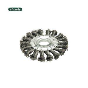 Escova Circular Aço Retorcido - 100X15Mm Fr100