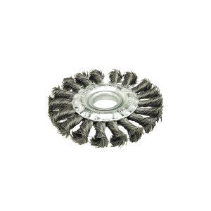 Escova Circular Aço Retorcido - 125X15Mm Fr125