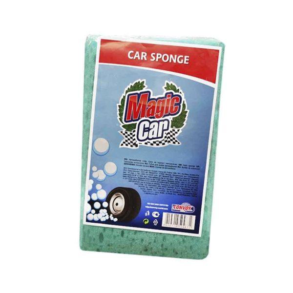 Esponja Limpeza Carro Geral 18X11X5Cm