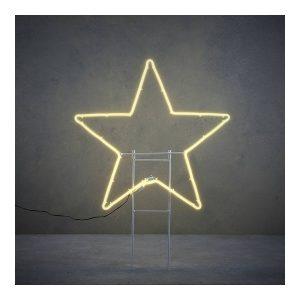 Estrela Led Para Exterior 200 Leds Ip44 54X51X3Cm