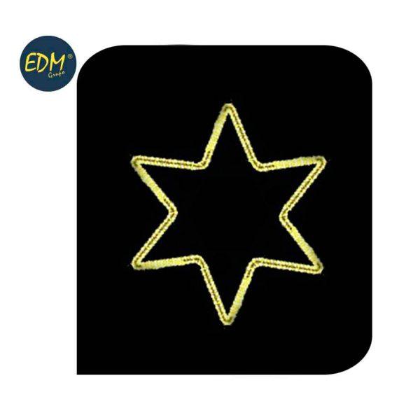 Figura Estrela Em Flexilux Branco 60Cm 220-240V Para Exterio
