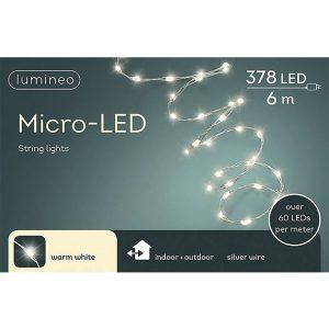 Grinalda Branco Quente 378 Micro Leds Extra Brilhantes Ip44