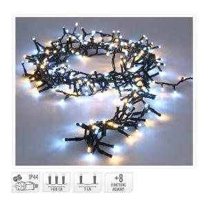 Grinalda Micro Cluster 700 Led 14M Luz Quente