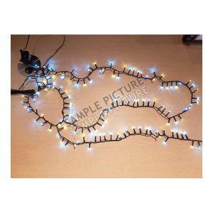 Grinalda Snake 400 Led 8M Luz Quente Lâmpada De 5Mm
