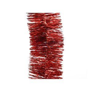 Grinalda Vermelha Brilhante Diametro 7