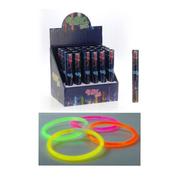 Kit De 15 Unidades Party Glow Neon Luminoso 15 Peças Cores S