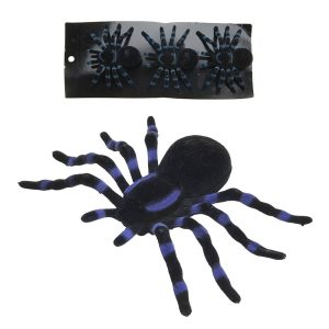 Kit De 3 Aranhas Halloween 11Cm