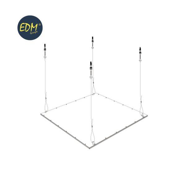Kit Para Suspensão Painel Led Ref: 31665 Y 31660 Edm