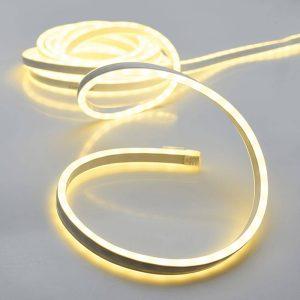Kit Tubo Neon Branco Quente 600 Leds Ip44 220-240V 5M. Apto