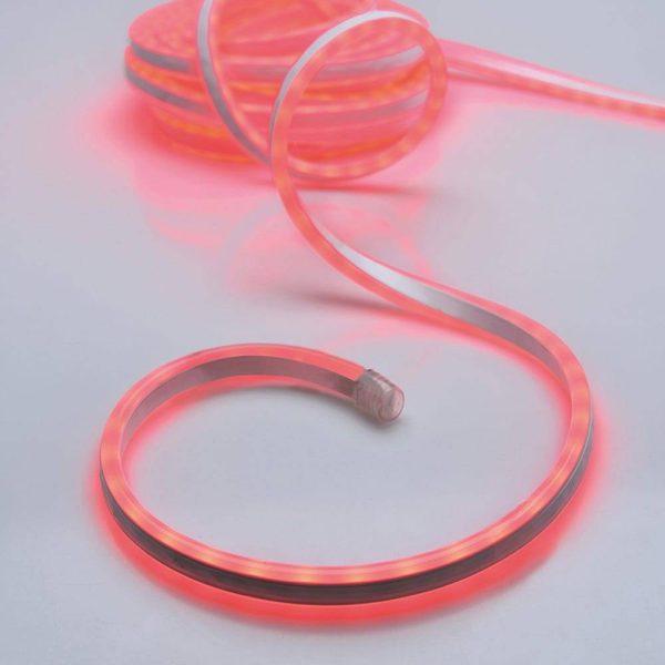 Kit Tubo Neon Vermelho 600 Leds Ip44 220-240V 5M. Apto Para