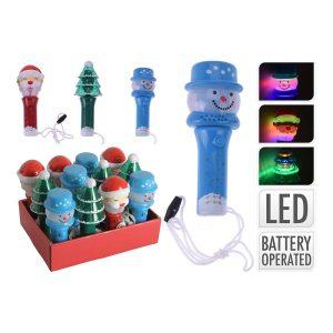Lanterna Infantil Giratória 14Cm. 3 Modelos Sortidos