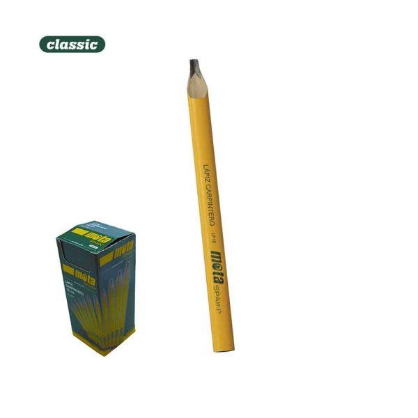 """Lapiz Carpinteiro 180Mm - 7""""  Lp18 Grafite Preto Caixa: 50 U"""