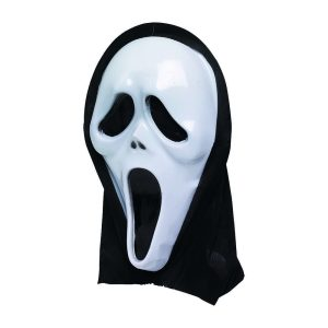 Máscara Para Halloween. 2 Modelos Sortidos 33X20X6Cm