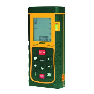 Medidor Distancias Laser Mota 40Mts Cl040 Ecra/Visor Luminos