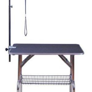 Mesa de Cabeleireiro para Animais de Estimação PawHut - Aço