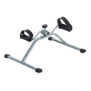 Mini bicicleta de exercício de aço para dispositivo de ciclismo - 40 x 53 x 29cm