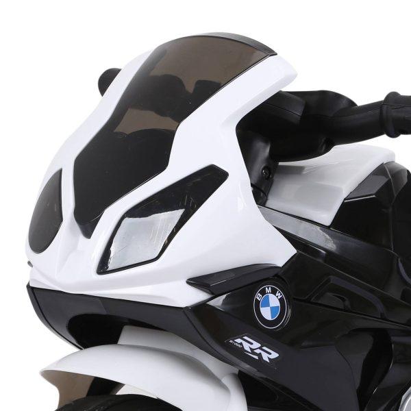 Mota Elétrica BMW Triciclo Trimota Infantil 6V Motobicicleta para Crianças 18-36 Meses com Luzes e Música 66x37x44 cm