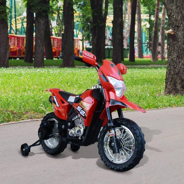 Moto Elétrica Carro Triciclo sem pedais para crianças 3 + anos de brinquedo Walker com luzes e suporte de música rodas 107x53x70cm