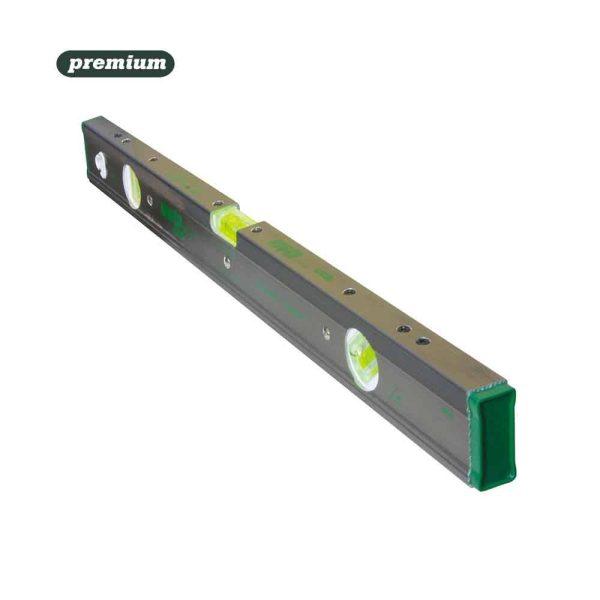 """Nivel Aluminio Premium Magnetico 500Mm - 20""""  Np50 3 Bolhas"""
