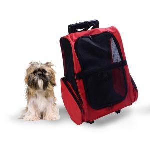PAWHUT Transportadora 2 em 1 para Cães