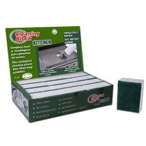 Pack 12 Cleaning Block Cozinhaideal Para Limpeza Geral Da Co