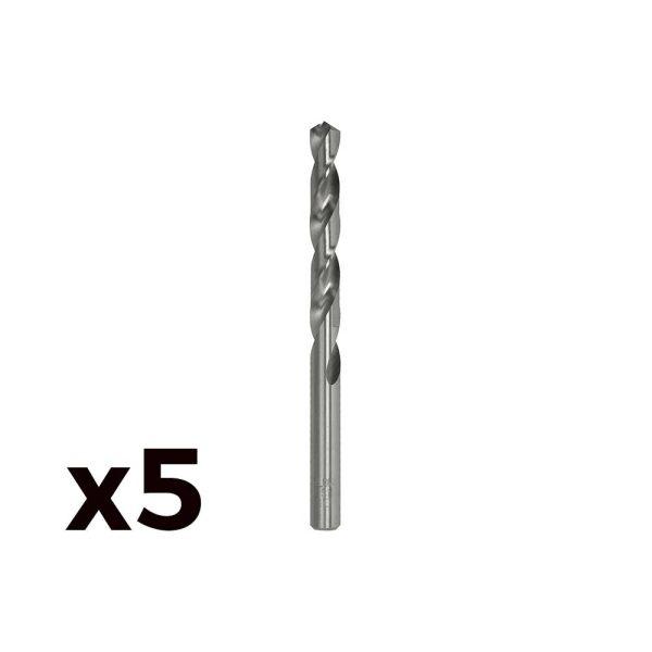 Pack 5 Brocas Cilind. Aço Rapido De8.50Mm M085