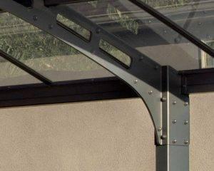Cobertura para Carros Arizona Breeze de Exterior, Cor Cinzento 10