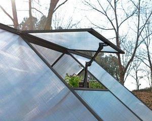 Estufa de Jardim Mythos em Policarbonato para cultivo de plantas 7