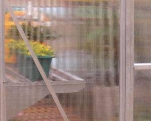 Estufa de Jardim Bella em Policarbonato para cultivo de plantas 1