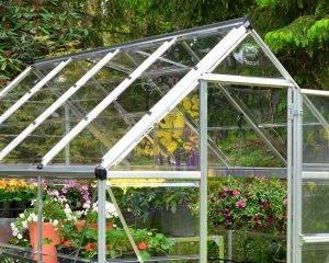 Estufa de Jardim Harmony em Policarbonato para Cultivo de Plantas 18