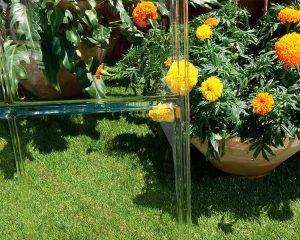 Estufa de Jardim Lean To em Policarbonato para cultivo de plantas 2