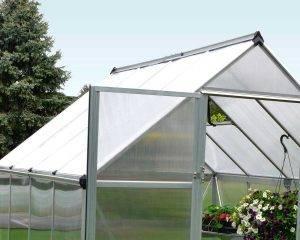 Estufa de Jardim Mythos em Policarbonato para cultivo de plantas 3